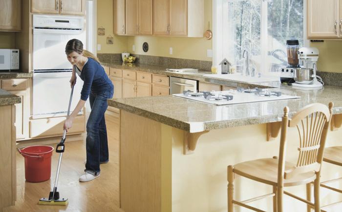 поддержание порядка на кухне