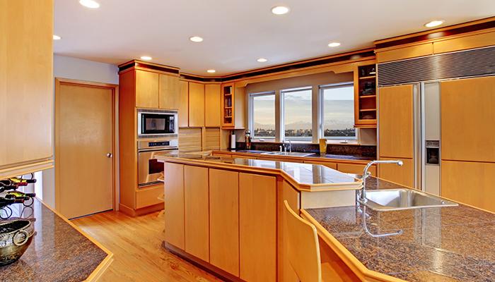 мраморная кухня