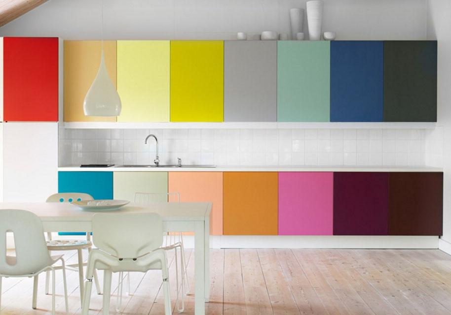 Цветная кухня