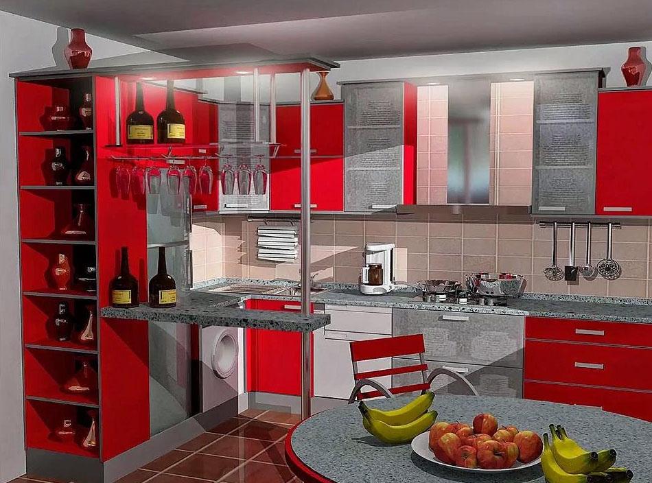 Дизайн 15-метровой кухни