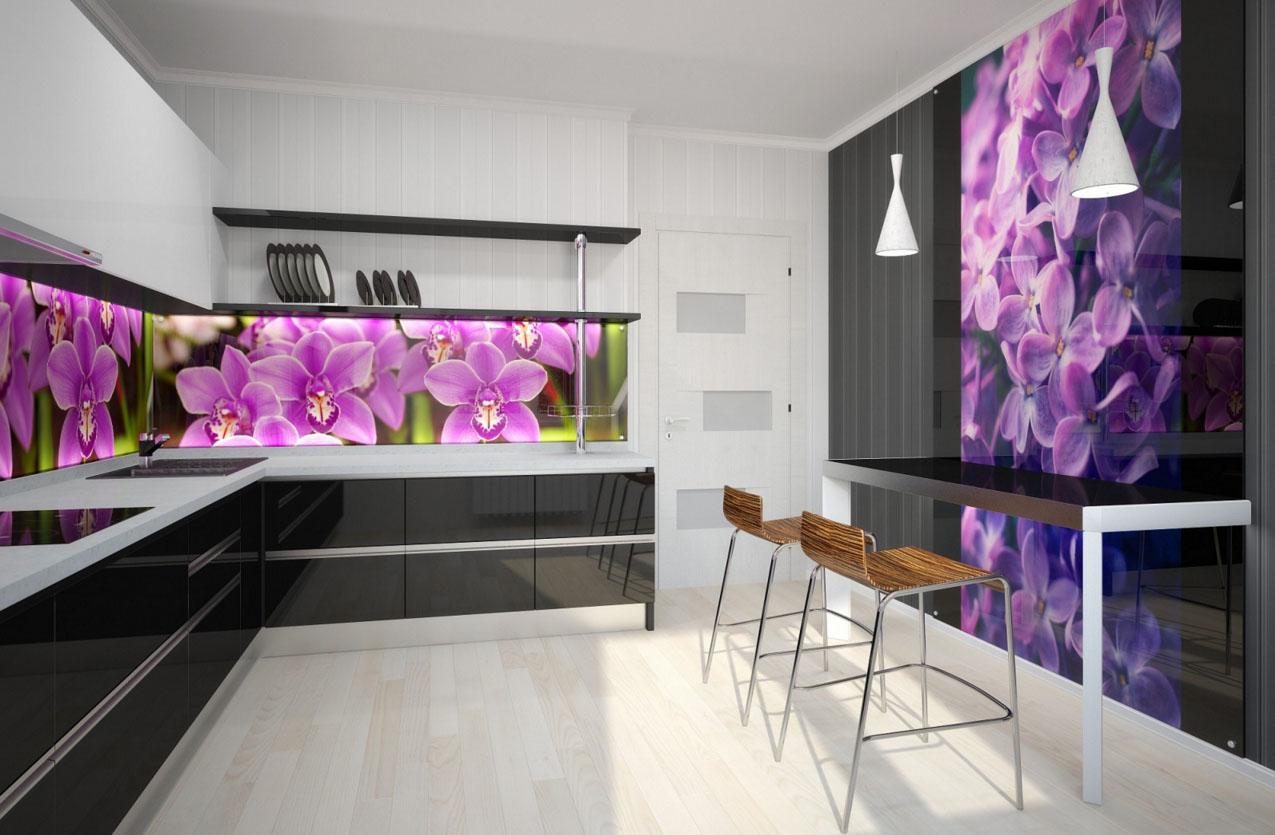 Кухня с экраном
