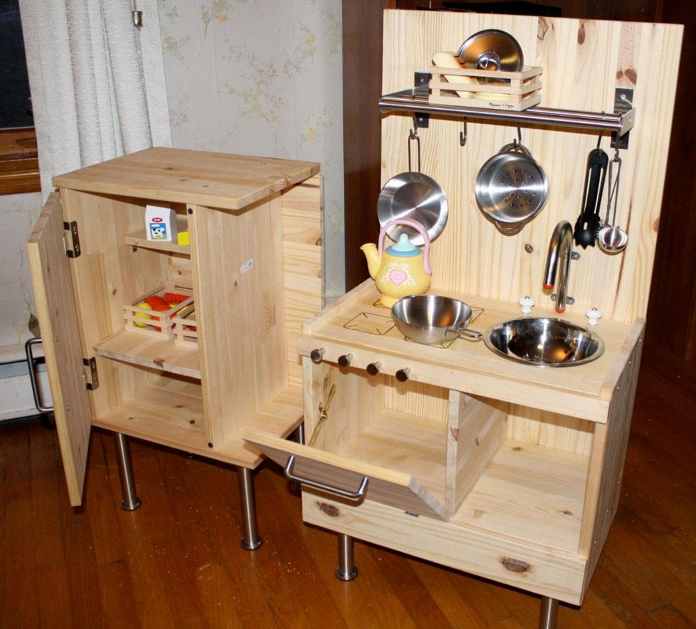 Детская кухня для девочек из дерева своими руками фото 321