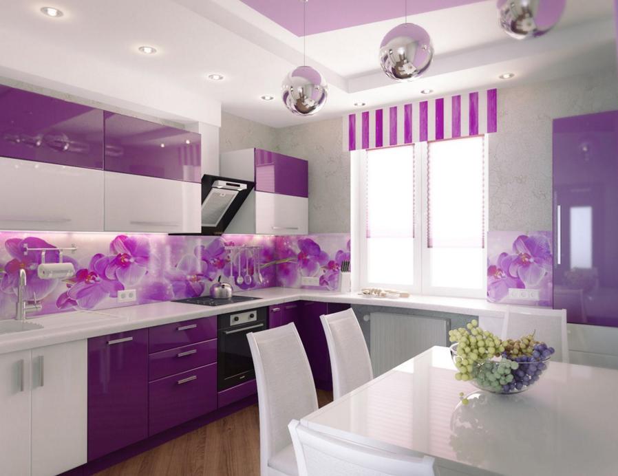 Лиловая кухня