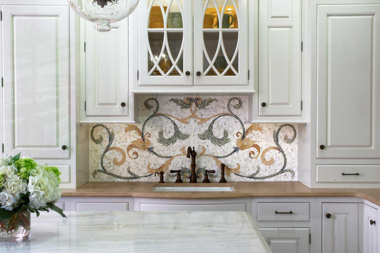 Мозаичное панно из плитки