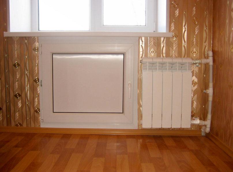 Как сделать дверки под окном на кухне