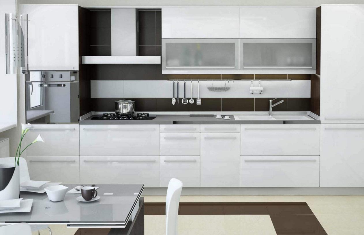 Новая кухня после замены фасадов