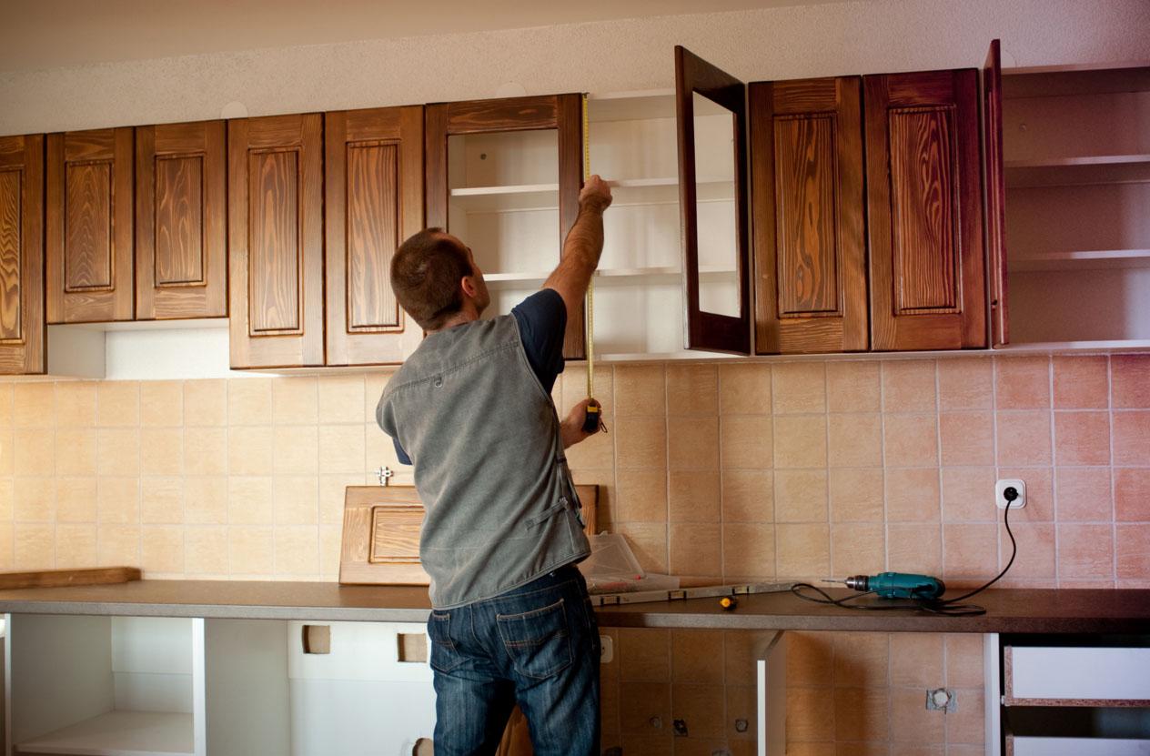Новый фасад кухни своими руками