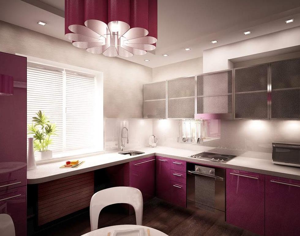 Проект главного света на кухне
