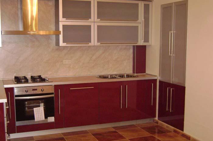 кухню объединяют с гостинной