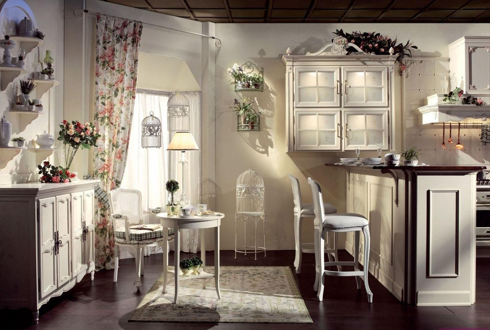 Мебель на кухню в стиле прованс своими руками