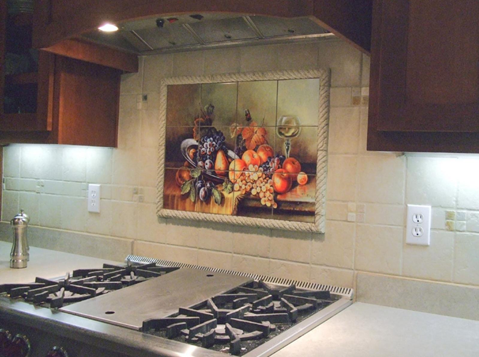 Панно на кухне