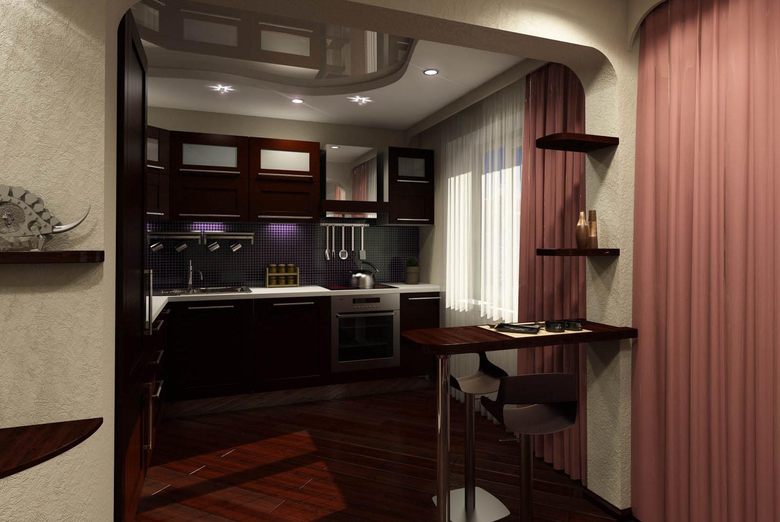 Прихожая дизайн кухня