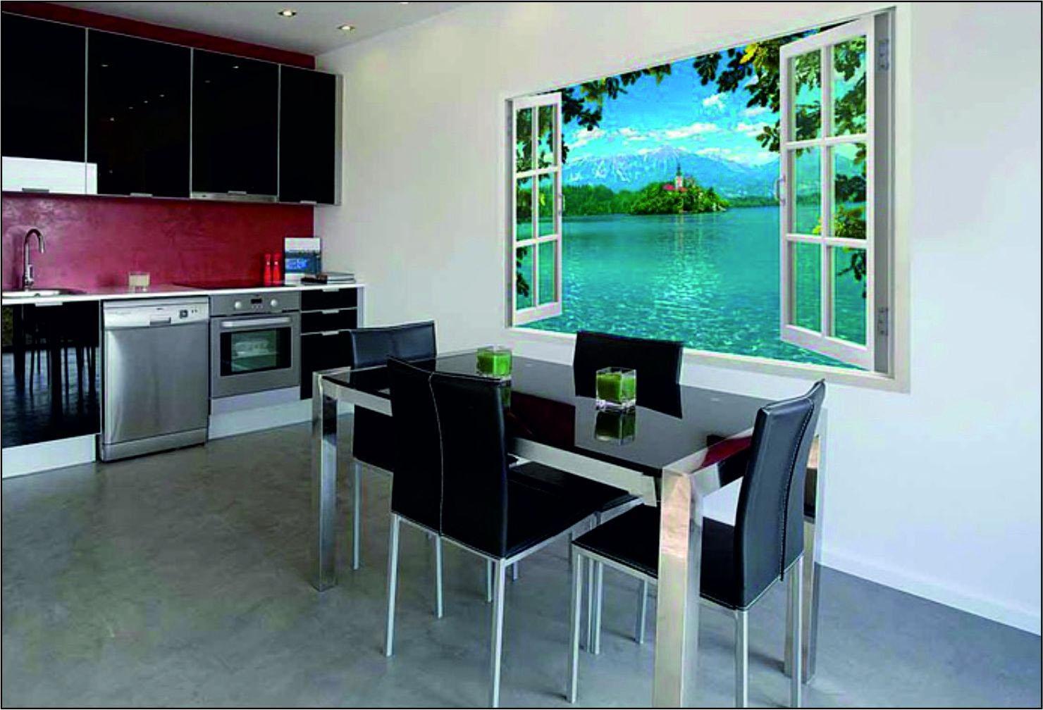 Расположение картин в интерьере кухни: советы специалиста