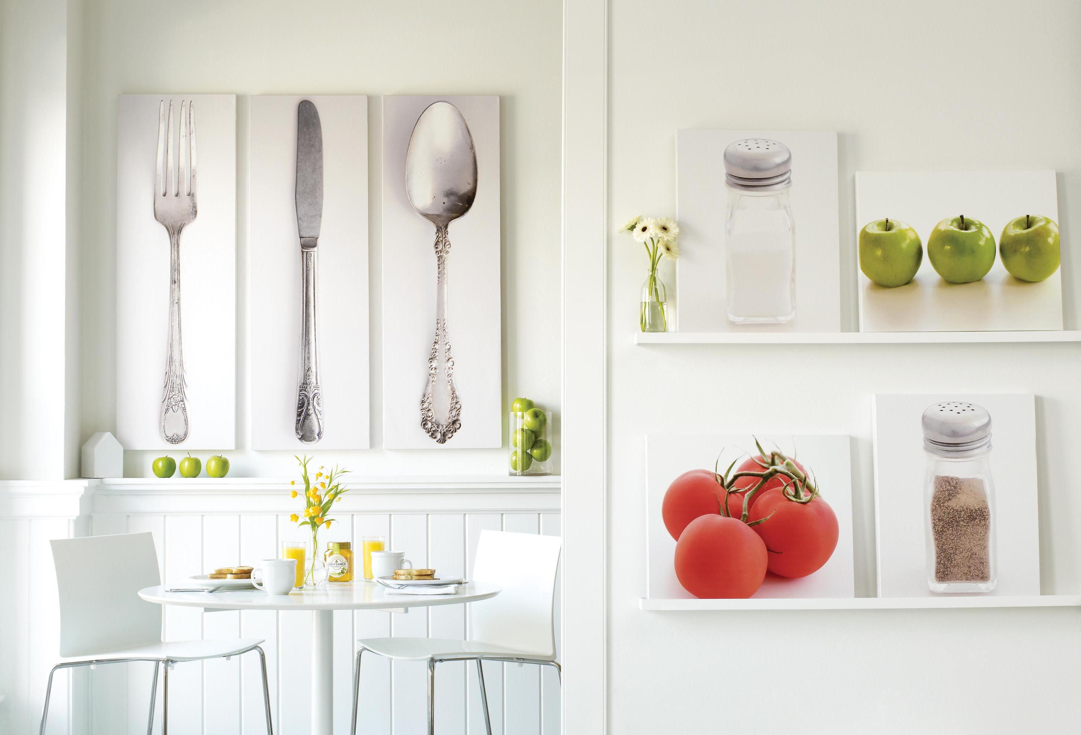 Оформить стену на кухне идеи своими руками