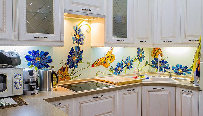 Витражи для стекол на кухню