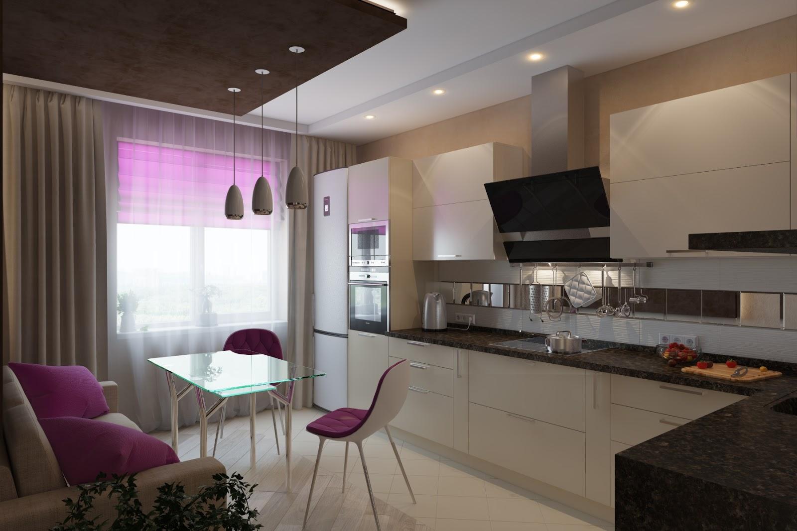 Интерьер и дизайн кухни 10 кв м