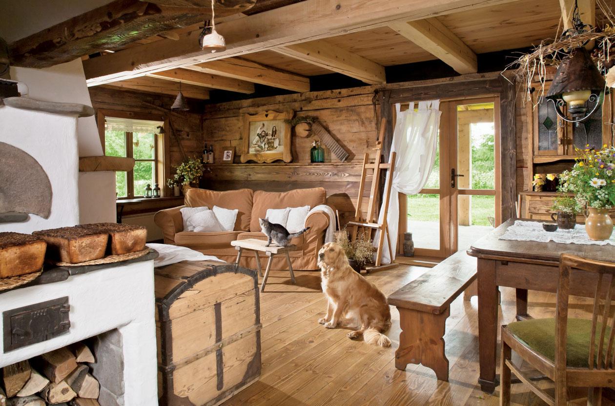 Дизайн деревенского дома своими руками фото