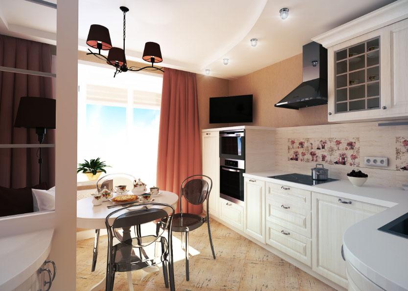 Дизайн и интерьер кухни 10 кв метров
