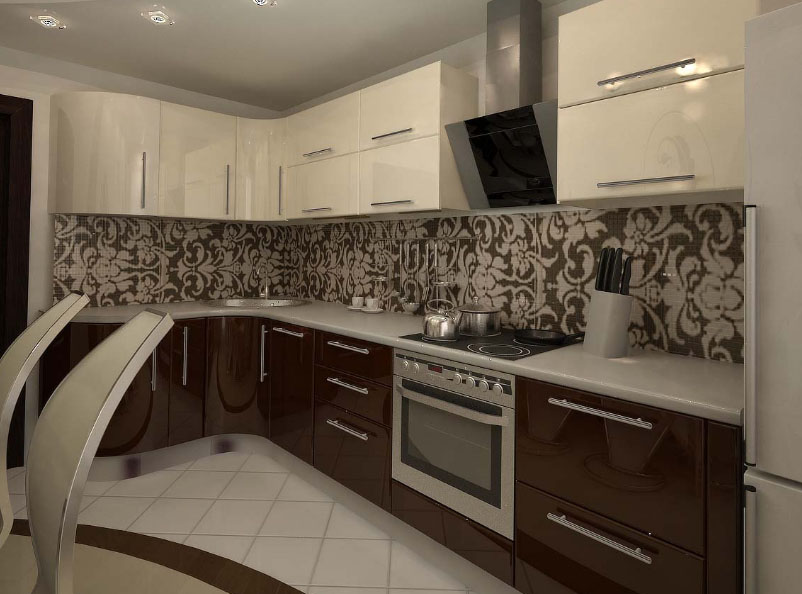 Дизайн кухни 12 кв метров