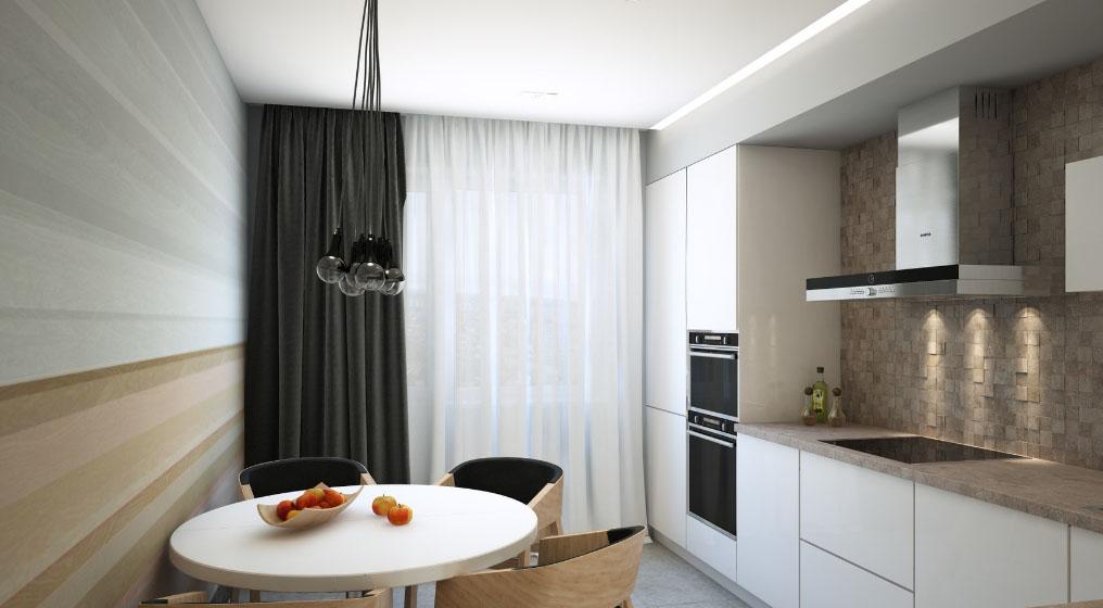 Дизайн кухни фото 12 кв 16