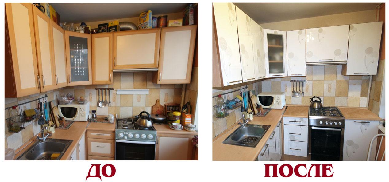 Реставрируем старую кухонную мебель своими руками