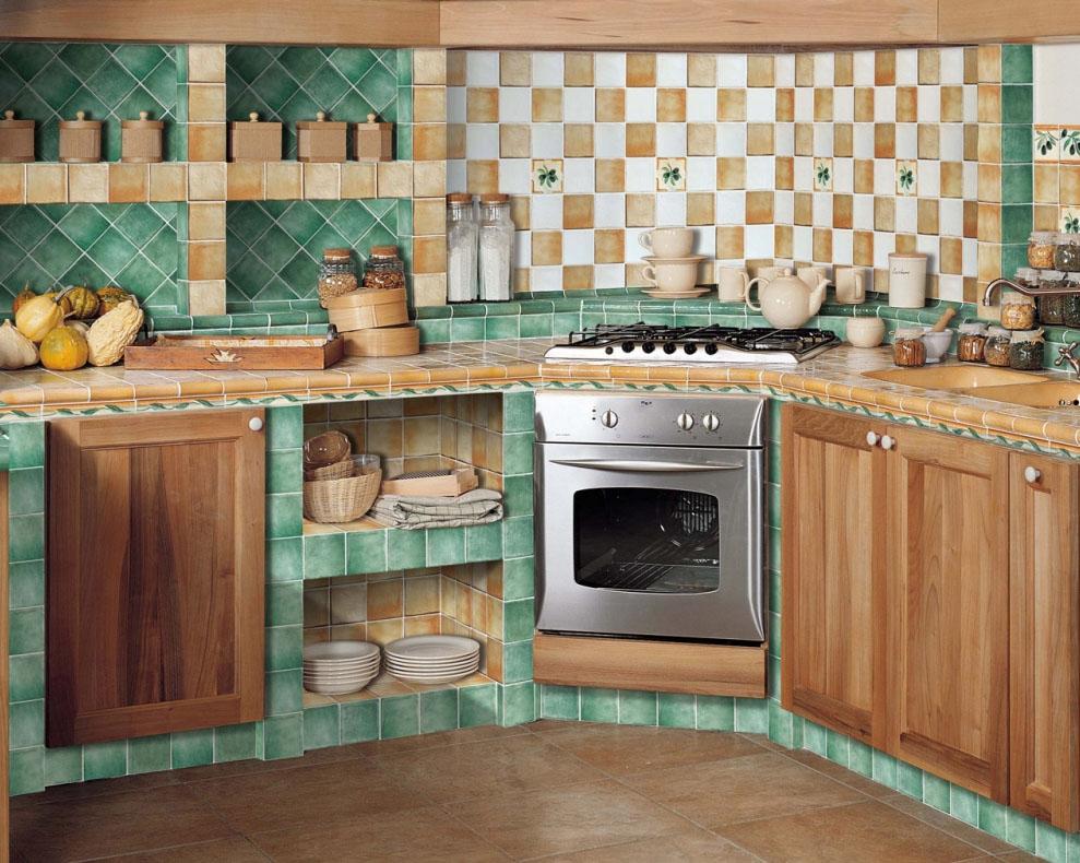 Плитка кухонная своими руками