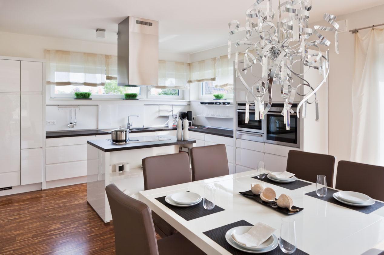 Кухня в современном классическом стиле
