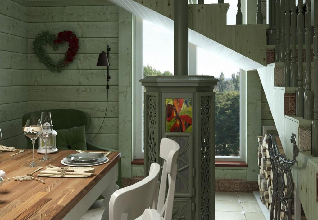 Дачный интерьер в стиле прованс своими руками фото