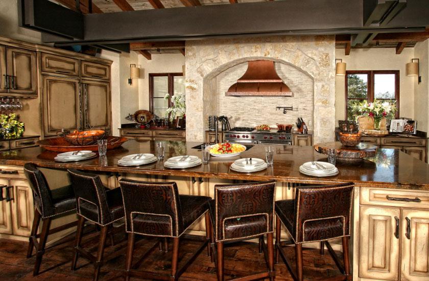 Кухня испанского стиля
