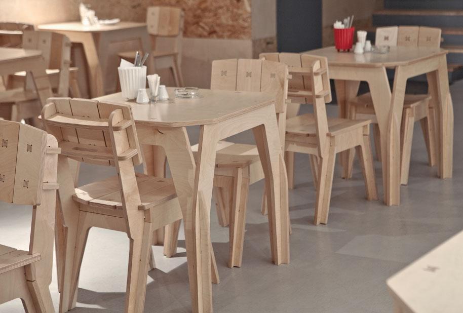 Мебель из листов фанеры