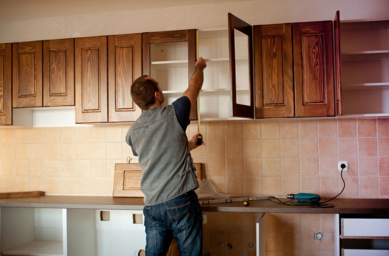 Как сделать кухонную стенку своими руками 75