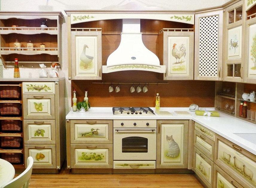 Обновление фасадов кухни