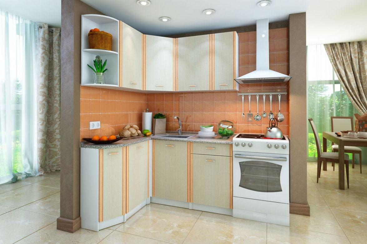 Правильные размеры кухонного гарнитура