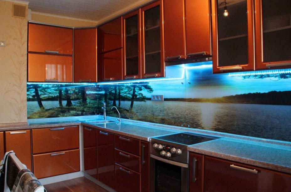 можно фартур для кухни стеклянный фото термобелье