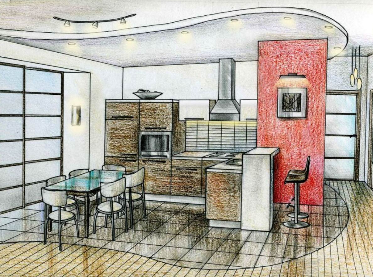 Дизайн проект квартиры в Москве 97