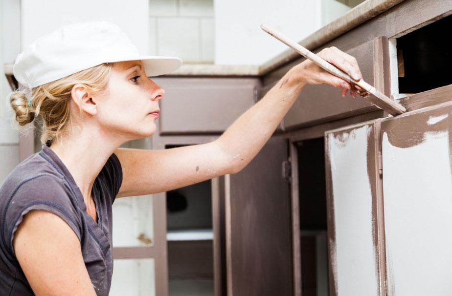 Как перекрасить фасад кухни из мдф своими руками 61