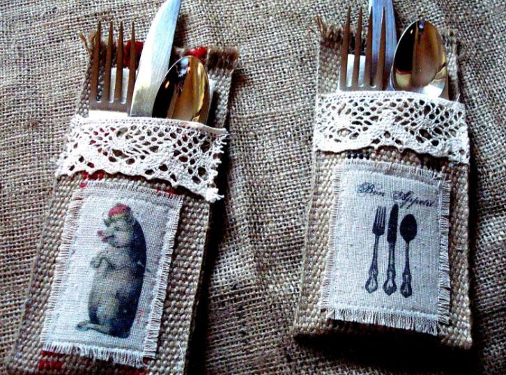 кармашки для кухни своими руками