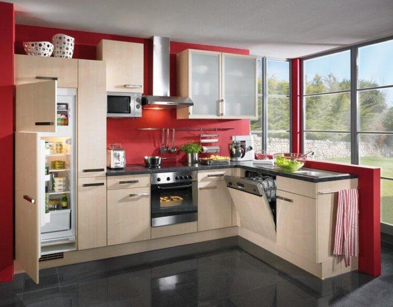 Дизайн кухни встроенные