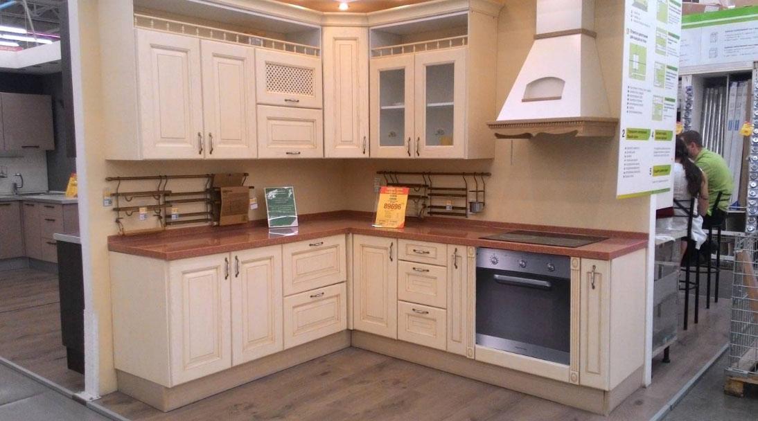 фото кухни из леруа мерлен