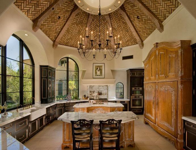 кухня в кастильском стиле
