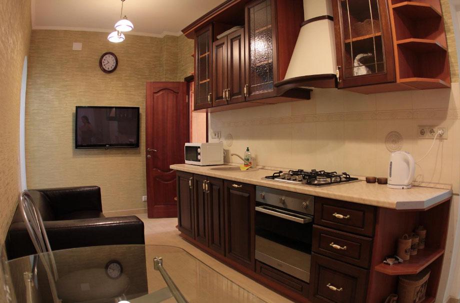 Как из комнаты сделать кухню-студию