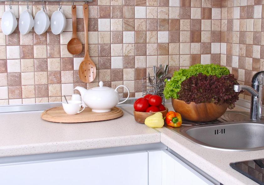 Кухонная плитка на фартук фото интерьеров