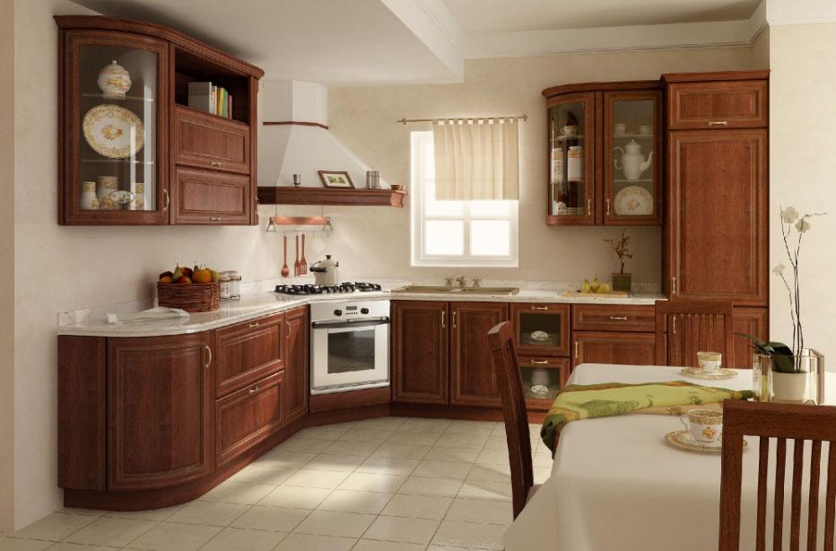 польский стиль кухонного помещения