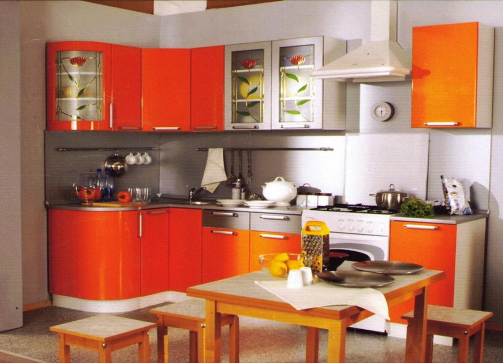 Фото дизайн угловой мебели кухни