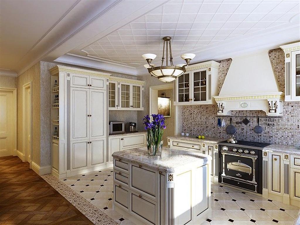 Кухня в историческом стиле