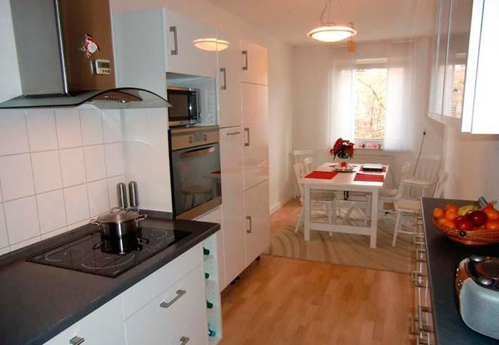 Дизайн кухни совмещенной с балконом в кирове.