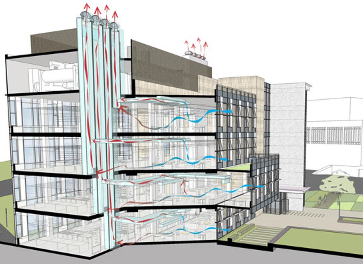 Схема вентиляции в девятиэтажного панельном доме
