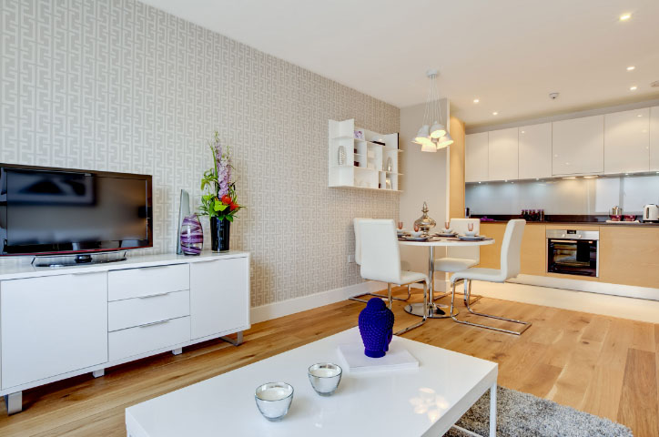 Дизайн совмещённой гостиной