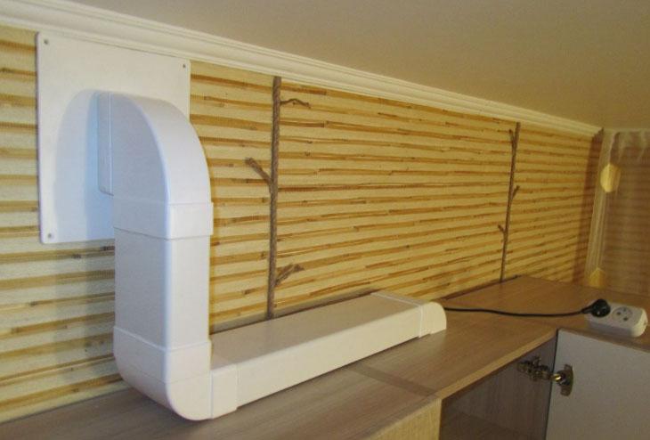 воздуховод для вытяжки на кухне