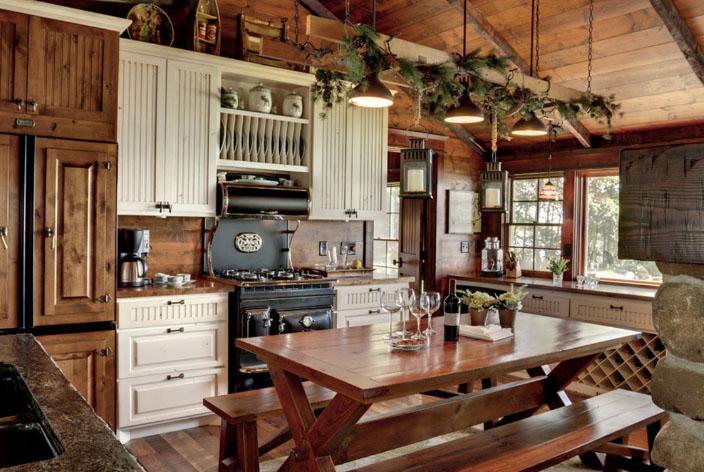 колоритная кухня кантри